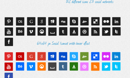21 awesome free social media icon packs